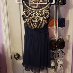 Navy blue B. Darlin dress